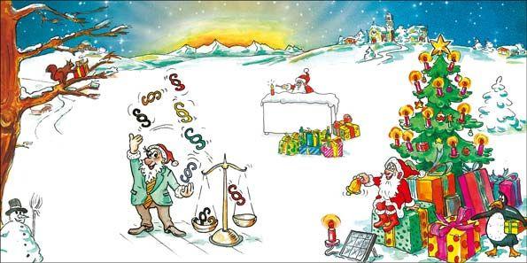 Weihnachtskarten 2017 für Firmen | Kategorie Steuerberater und Rechtsanwälte | Motiv: Steuer und Recht 2017 - Artikel Nummer 52022