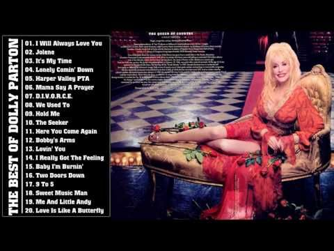 Dolly Parton Greatest Hits Playlist - Best Of Dolly Parton - YouTube