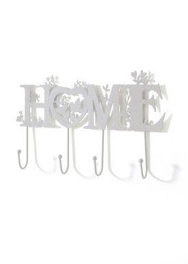"Appendino ""HOME"", bpc living, Bianco/grigio"