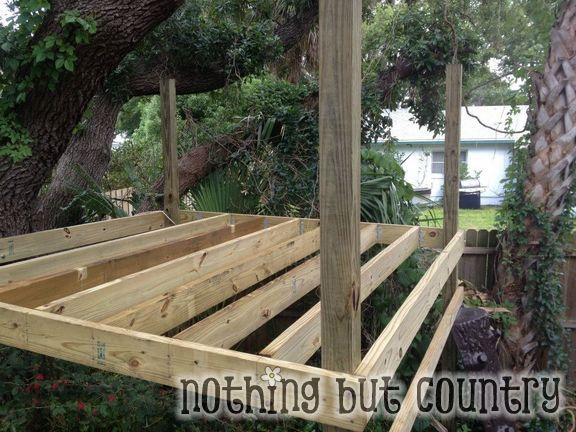 Diy tree house garden and outdoor pinterest for Diy tree house plans