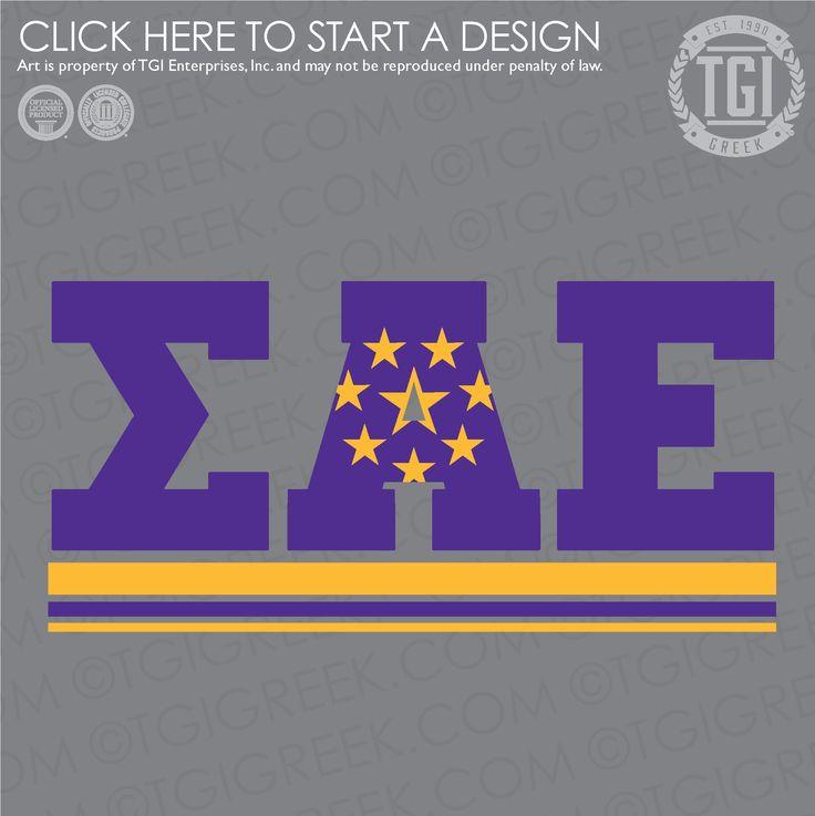 Sigma Alpha Epsilon | ΣΑΕ | SAE | Intramural | TGI Greek | Greek Apparel | Custom Apparel | Fraternity Tee Shirts | Fraternity T-shirts | Custom T-Shirts