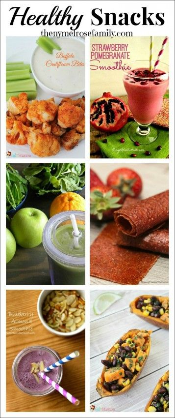Healthy Snacks: From healthy smoothies to the ultimate healthy football food