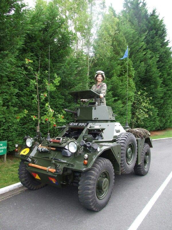 Ferret Scout Car Model Kit