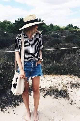 the summer stripes.