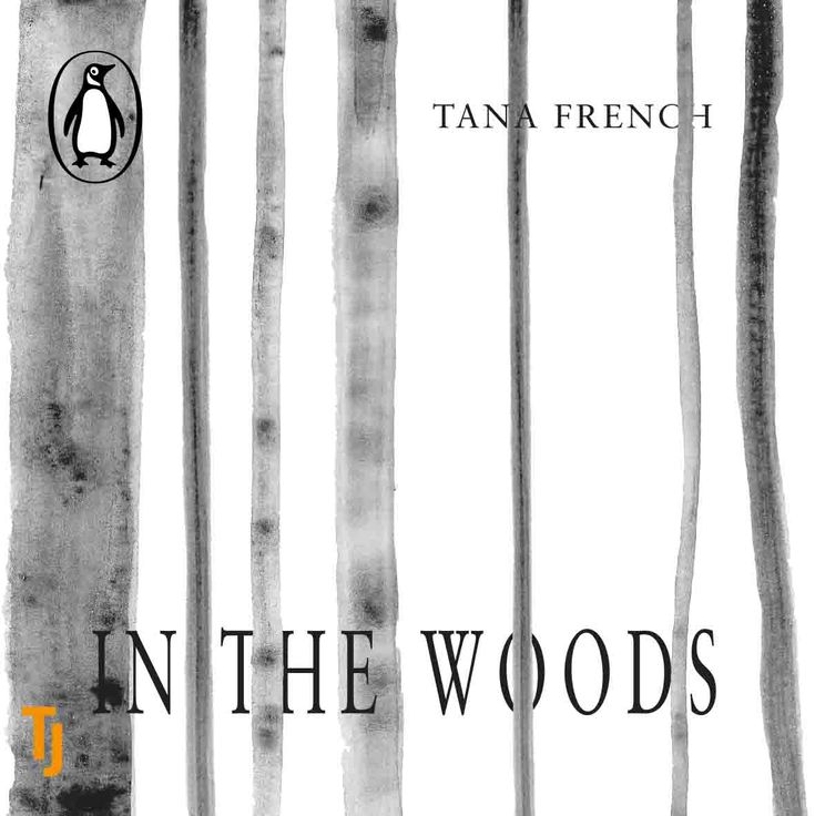 Personal brief #bookcoverdesign #graphicdesign #typography #tanafrench #inthewoods #digitaldesign #audiobook