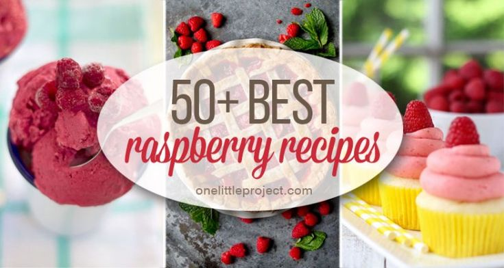 No matter what you are craving, you're sure to find some inspiration in this delicious collection of the 50 best raspberry recipes for field fresh berries.