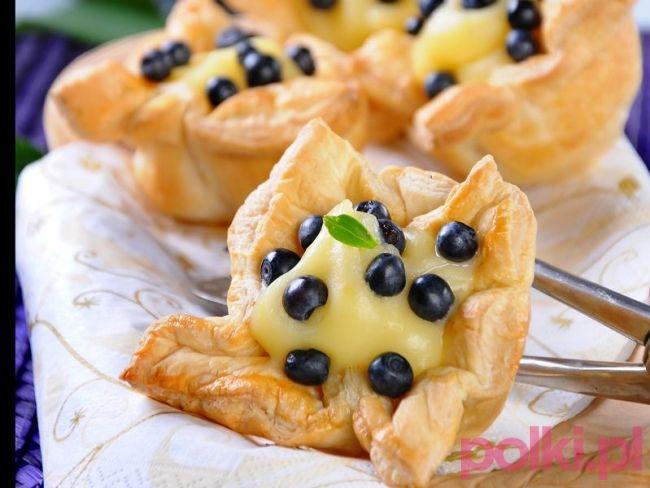 Ciasto francuskie z budyniem #polkipl