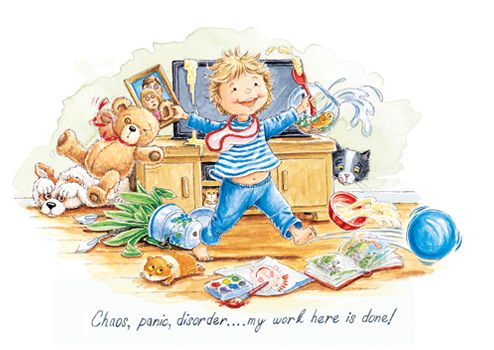 Chaos, panic, disorder....my work here is done!  Buy any 10 cards for only £14 shop now: http://tinyurl.com/ju8y7f5