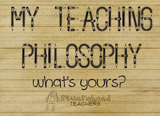 A personal teaching philosophy and learning environment organization