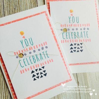 Visit my blog for many more PP ideas! Like cake!? Paper Pumpkin: Many Happy Birthdays Alternate 1