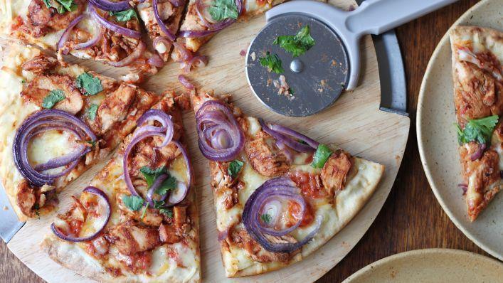 BBQ Chicken Pizza Recipe - Genius Kitchen