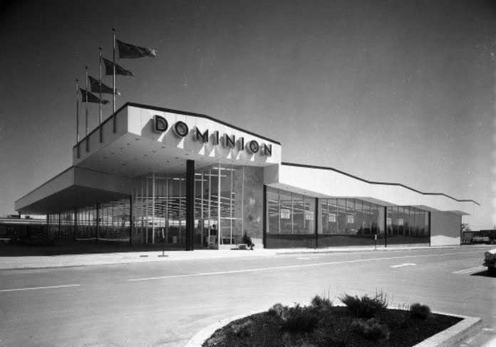 Dominion, Cloverdale Mall c.1960 Etobicoke, Ontario