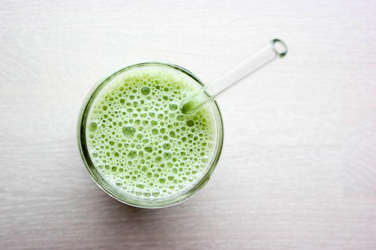 Smoothie med spinat med ingefær og kanel er top of the pops av grønne smoothies!