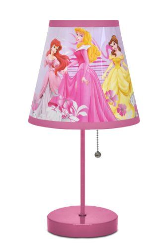 Attractive DISNEY PRINCESS TABLE LAMP   Click Image Twice For More Info   See A Larger  Selection