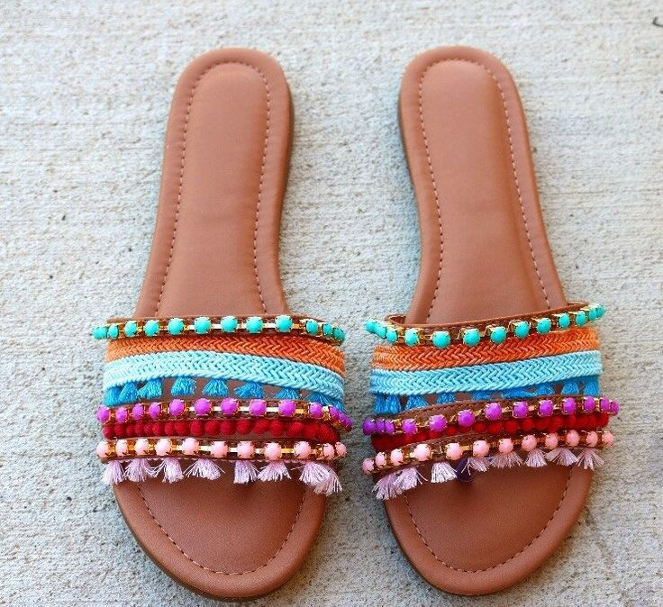 Anna Bohemian Beaded Sandals