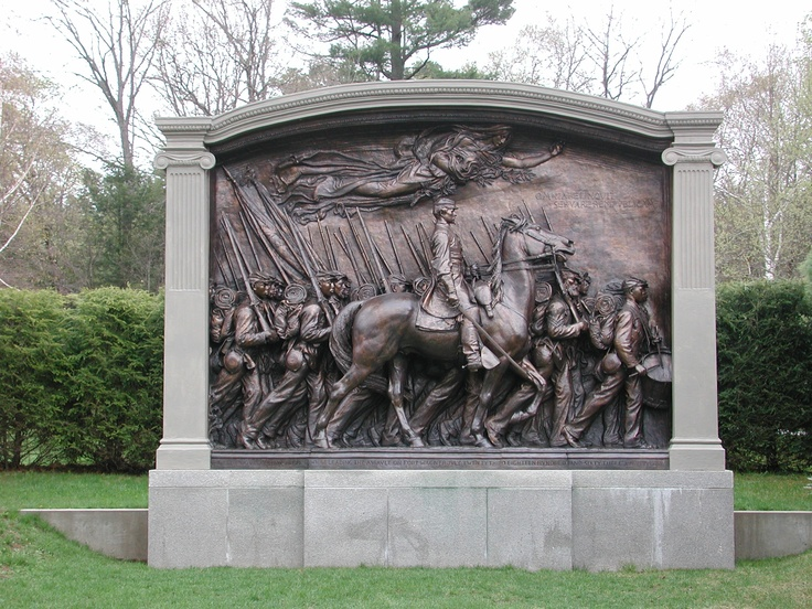 Shaw Memorial--for the brave 54th Massachusetts Regiment and their colonel, Robert Gould Shaw.