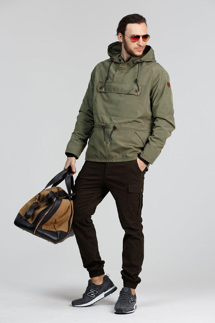 анорак мужской с чем носить фото есть