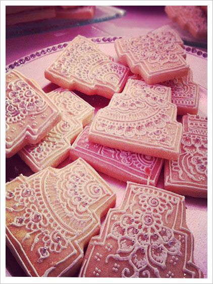 Henna Wedding Cookies!!