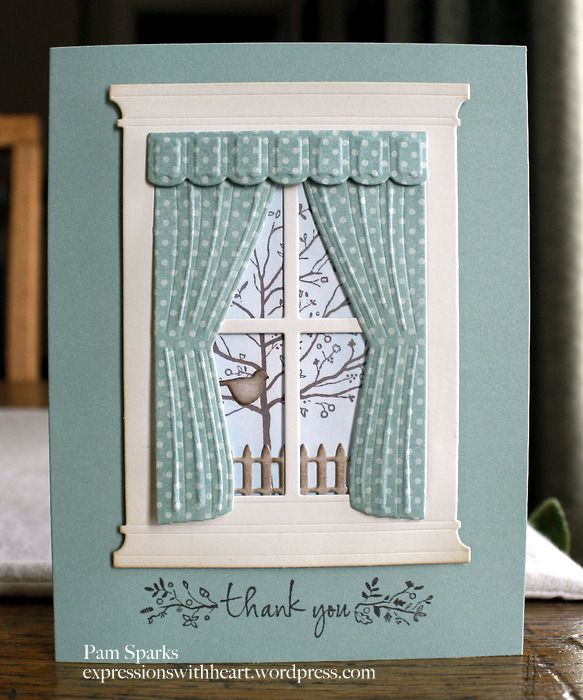 window card by Pam Sparks