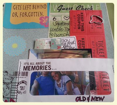 Smashbook Idea -- An Ephemera Pocket Made from a Recycled Window Envelope