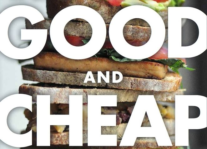 Good and Cheap cookbook, Free cookbook with recipes designed for people receiving SNAP benefits to eat healthy meals on $4 a day.