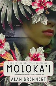 Historical fiction - About the island of Molokai where people afflicted with leprosy were sent