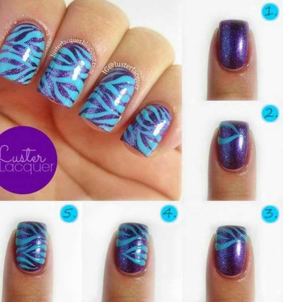 Зебра#маникюр #ногти #nails #nail #дизайн ногтей #гель лак #гель #гелевые ногти #шеллак…»