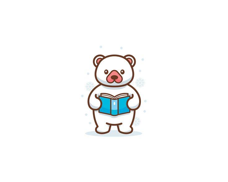 Logo Outline Cartoon Mascot by ManuDesign - 101864