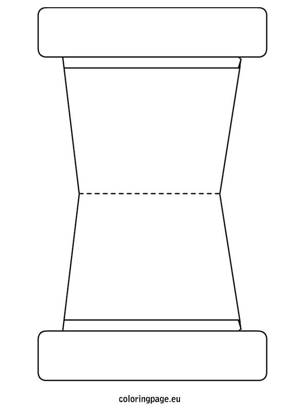 Flower Pot Template | School Pattern Printables | Pinterest