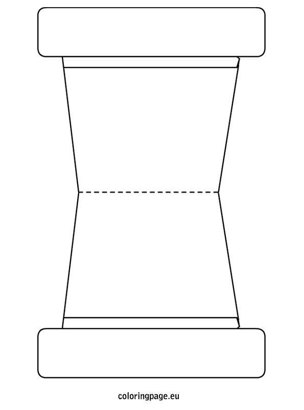 Flower Pot Template | School Pattern Printables | Pinterest