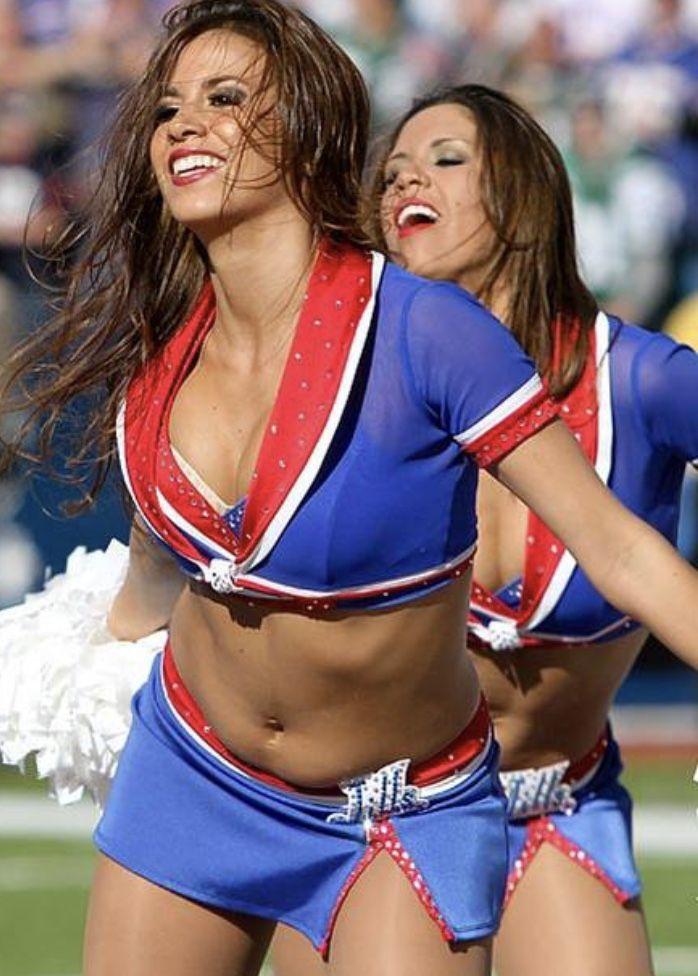Confirm. Buffalo bills cheerleaders think, that