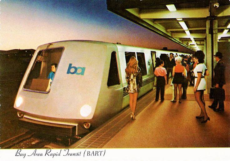 Bay Area Rapid Transit (BART) circa 1970's