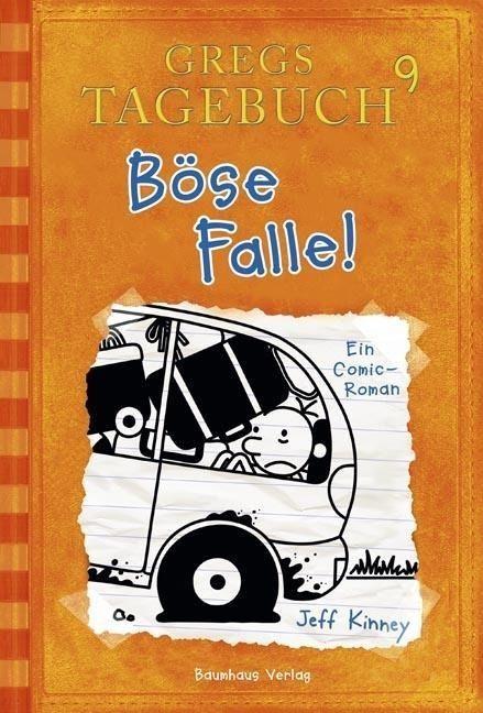 Gregs Tagebuch 09. Böse Falle! - Jeff Kinney #gregsdiary #kids #books #genialokal