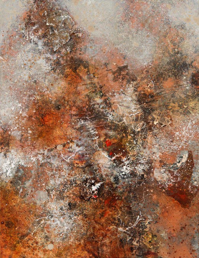 Modern ArtBuyer: Copper Earth by Ione Parkin RWA