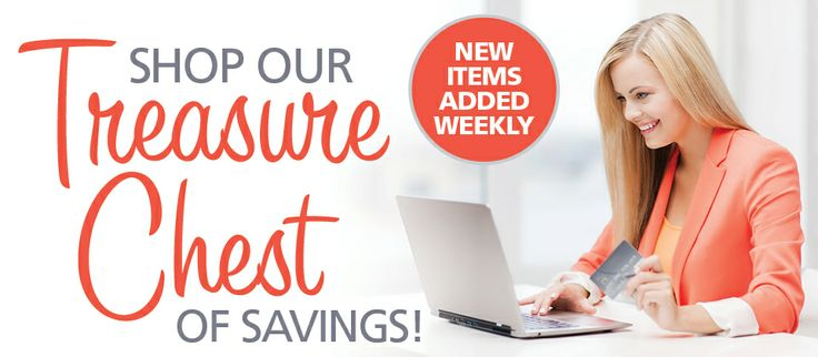 Treasure Chest Sale By Celebrating Home Clearance Items