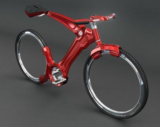 spoke less bike