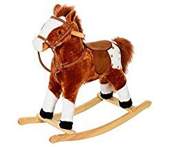 Go to http://prenatal-baby-toddler-preschool-store.co.uk/traditional-plush-rocking-horse-with-sound-super-soft-padded-body-and-comfortable-saddle-this-horse-is-perfect-as-a-permanent-piece-of-toy-furniture-for-any-rooms-and-is-sturdy-enough-to-last-for-years  to review Traditional Plush Rocking Horse with Sound - Super Soft Padded Body and Comfortable Saddle - This horse is Perfect as a Permanent Piece of Toy Furniture for Any Rooms and is Sturdy Enough to Last for Years. by