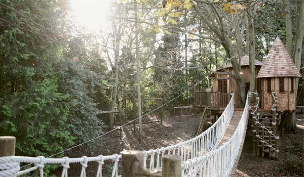 Sleepy Hollow-Inspired Treehouse