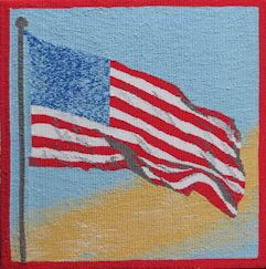 Pam Patrie: Flag study for a proposal