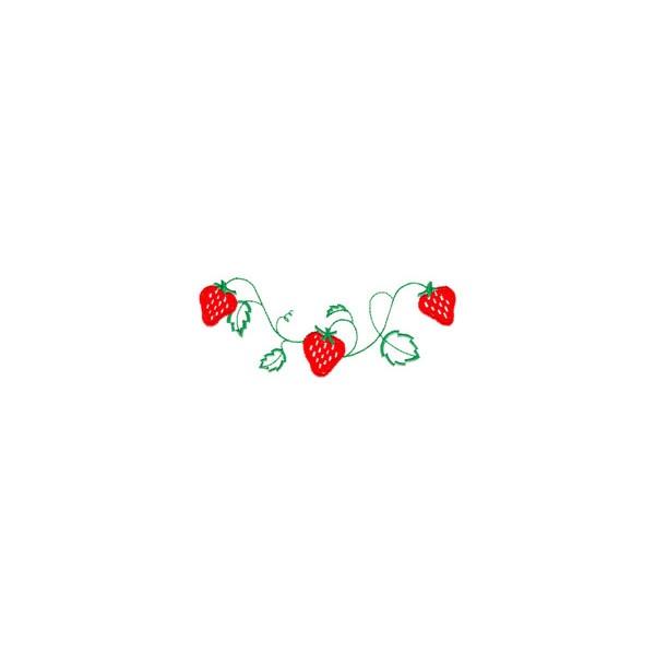 strawberry vine design