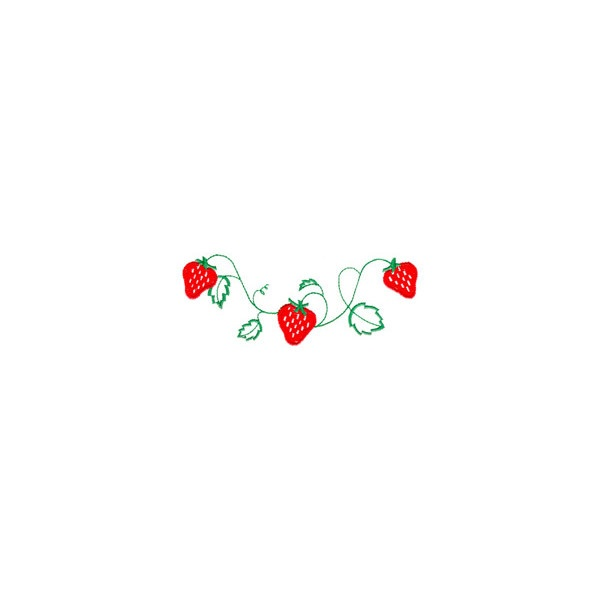 strawberry vine design