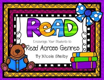 Encouraging Your Students to Read Across the Genres {FREEBIE}