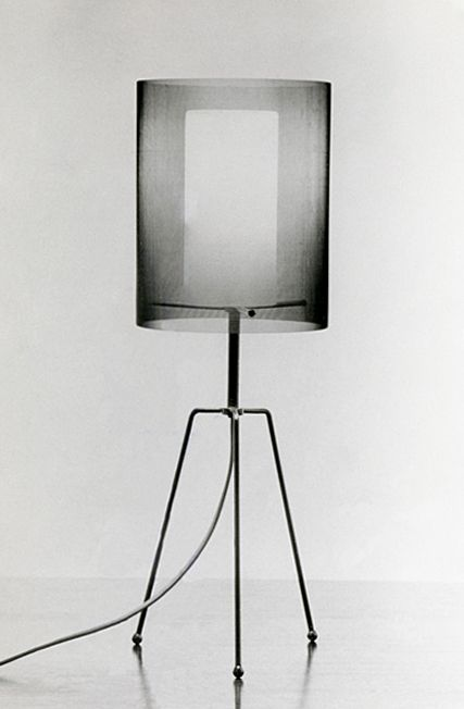 design-is-fine: Tapio Wirkkala, Light fitting, 1957. Opal glass diffuser, the shade is made of fine metal gauze. Finland.
