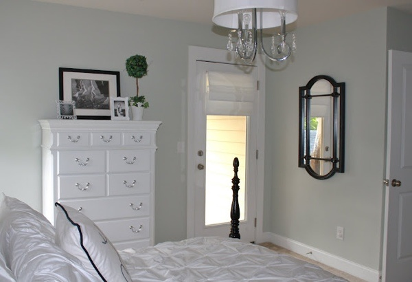 Benjamin Moore Night Mist In 2019 Dresser Top Decor