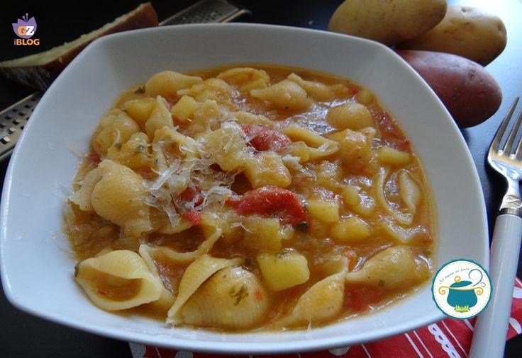 Pasta e patate al Castelmagno/ Ricetta primi