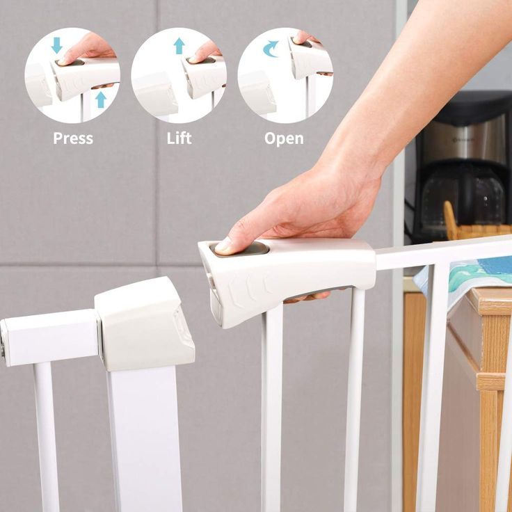 Cumbor 378 auto close safety baby gate see this