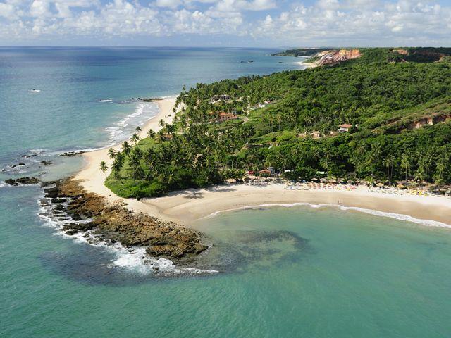 Ponta dos Seixas , João Pessoa – Paraíba Praia-de-Coqueirinho-Conde-PB