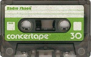 Radio Shack concertape 30