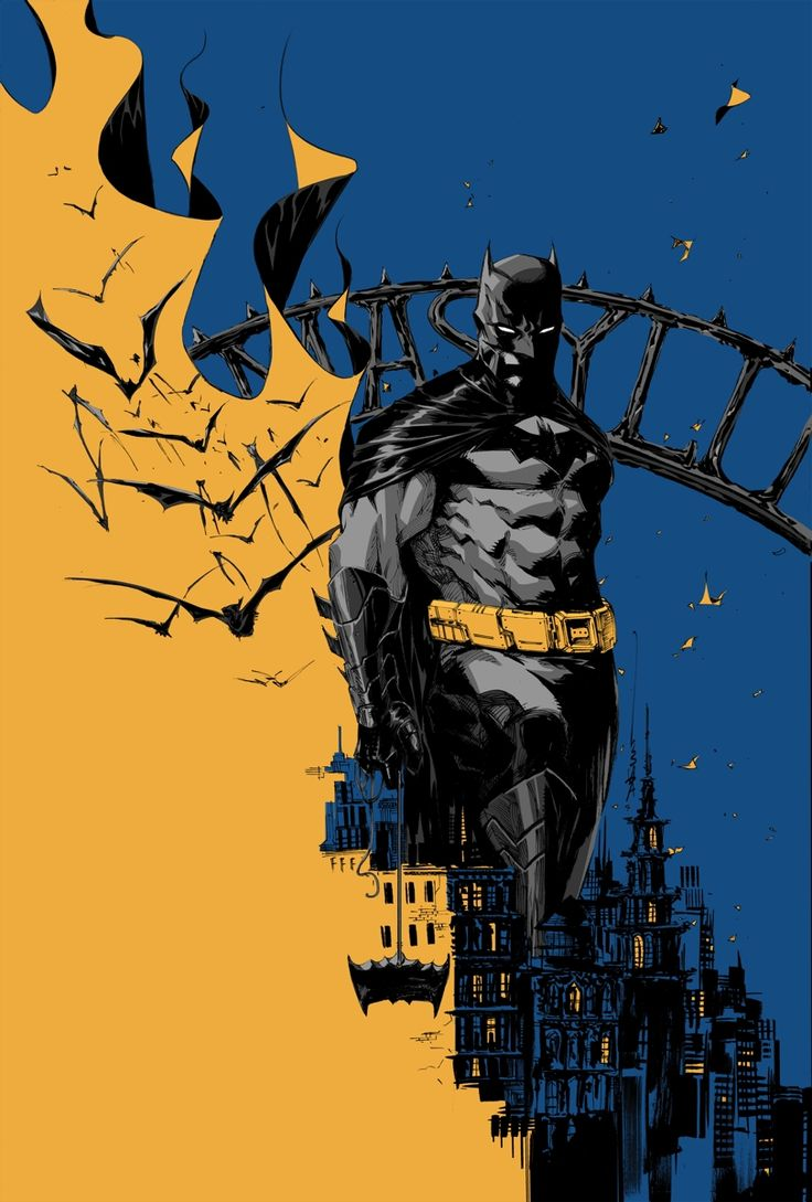 Batman Eternal #16 cover by Dustin Nguyen