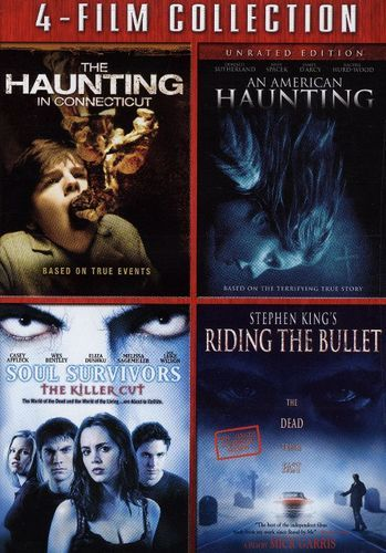 The Haunting in Connecticut/An American Haunting/Soul Survivors/Riding the Bullet [4 Discs] [DVD]